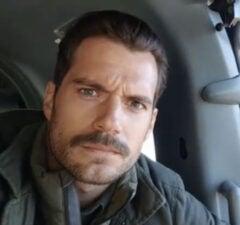 Henry Cavill Mustache