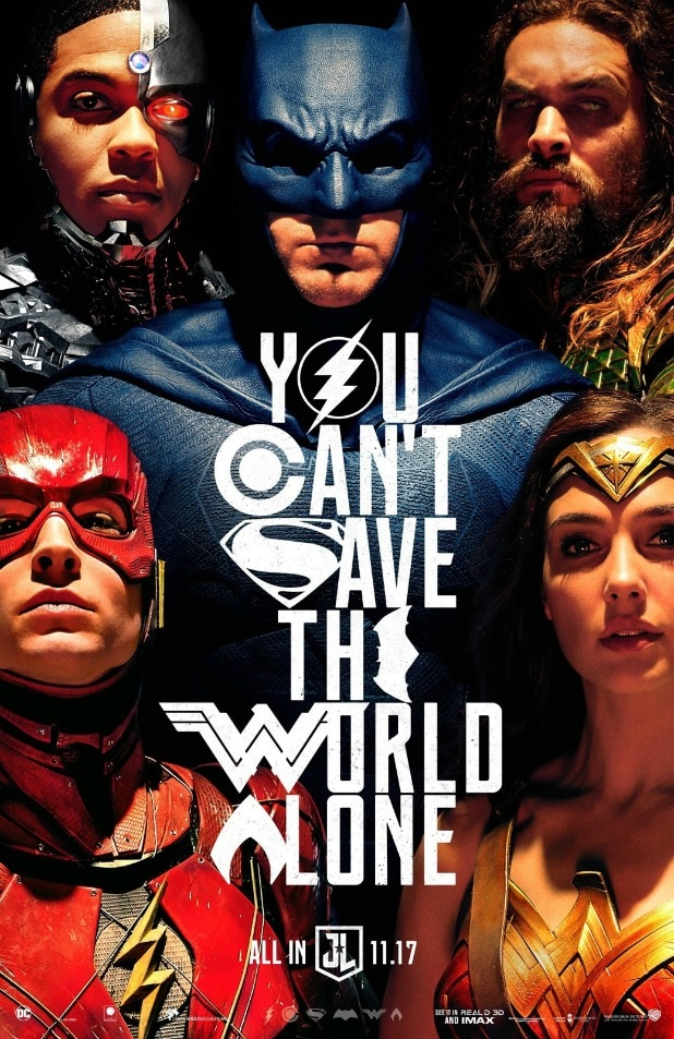 Justice League Comic-Con Poster