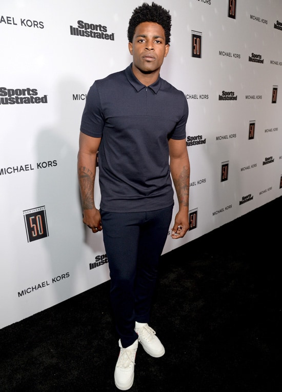 Michael Crabtree Sports Illustrated 2017 Fashionable 50 Celebration