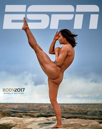Michelle Waterson ESPN Body Issue Cover