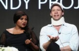 Mindy Kaling and Ike Barinholtz