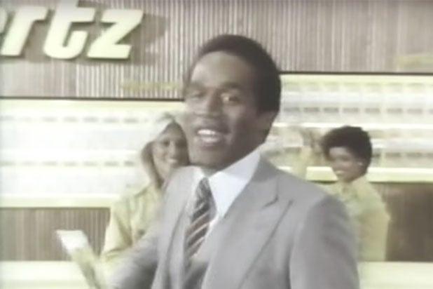 OJ Hertz commercial