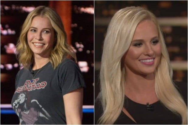 Chelsea Handler And Tomi Lahren Face Off In Live Debate Grudge Match