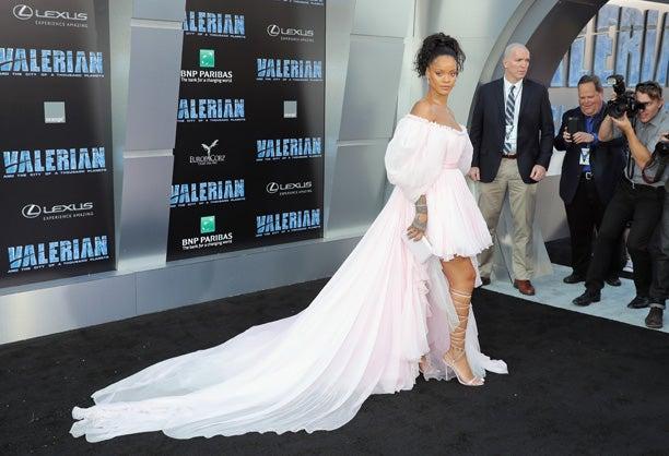 Rihanna Valerian premiere