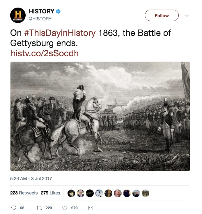 history channel bad tweet