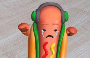 SnapChat Sad Hotdog Failure