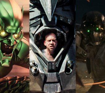 Spider-Man Movie Villains Green Goblin Vulture