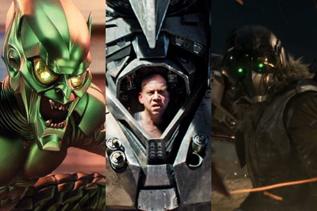 Spider-Man Movie Villains Green Goblin Vulture