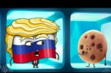 Trump in 'The Emoji Movie'