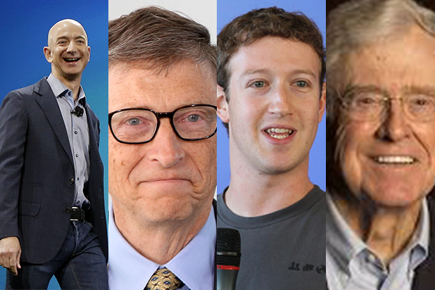 Here Are the World's 10 Richest People, From Jeff Bezos to