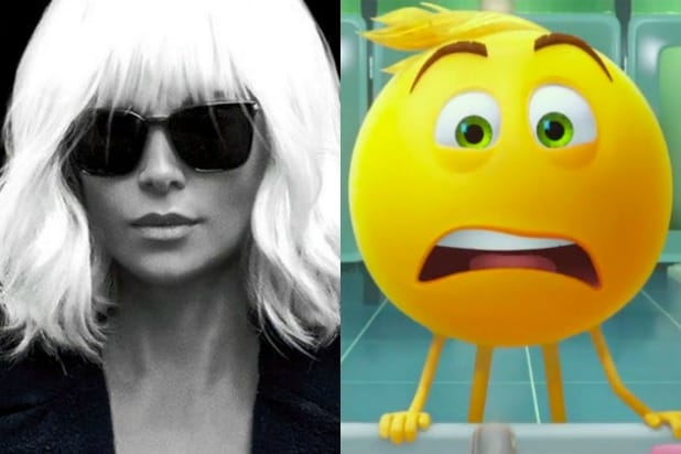 atomic blonde emoji movie box office