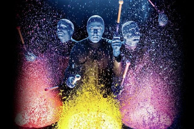 Cirque du Soleil acquires Blue Man Group