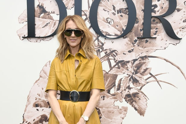 8a0bfc1079 Celine Dion Strips Down in Fashion Feature for Vogue (Photo)