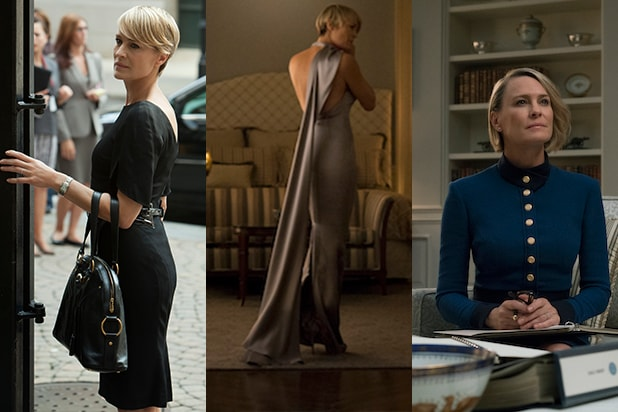 House Of Cards The Style Evolution Of Robin Wright S Claire