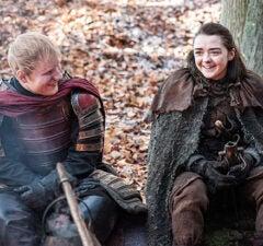 Ed Sheeran Maisie Williams Game of Thrones