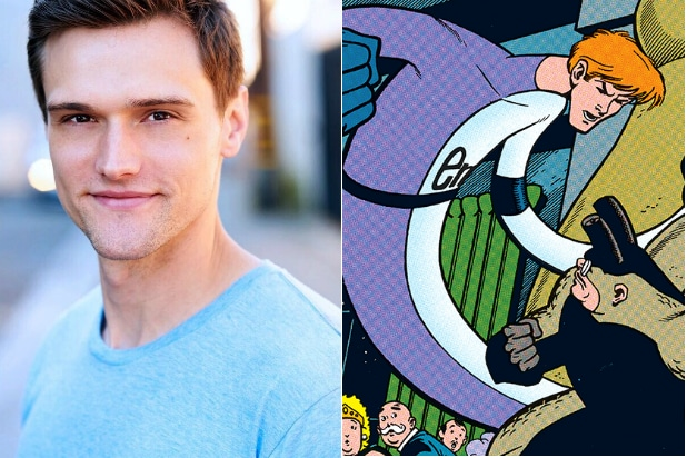 The Flash Casts Its Elongated Man