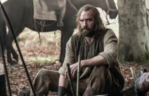 game of thrones what did the hound see in the flames