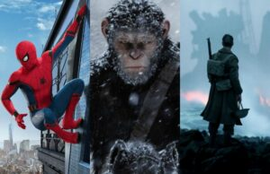 july movies box office spider-man planet of the apes Dunkirk