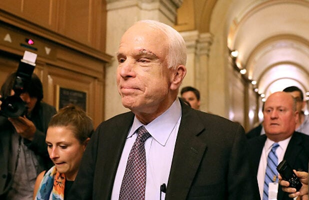 john mccain Skinny Repeal vote
