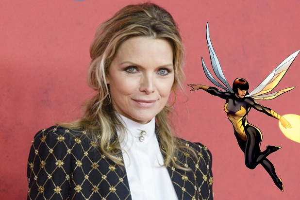 Michelle Pfeiffer joins Ant-Man and the Wasp