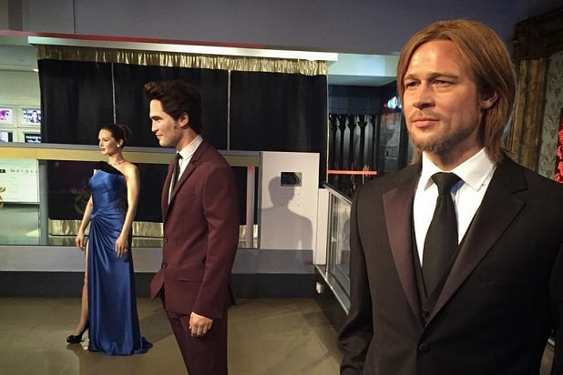 robert pattinson wax figure