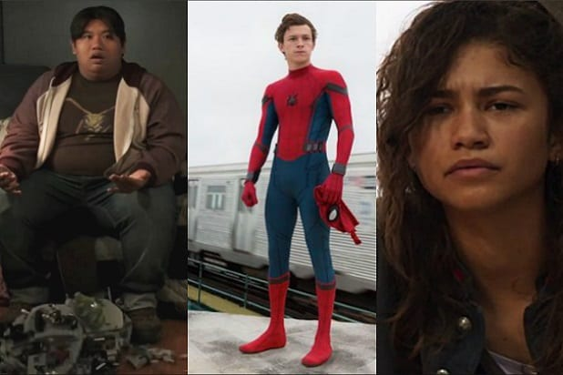Spider Man Homecoming Characters Ages Ned Peter Parker Michelle