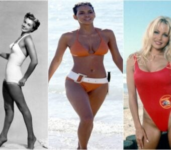 swimsuits collage