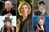 doctor who tom baker jodie whittaker david tennat peter capaldi william hartnell