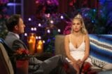 "Chris Harrison and Corinne Olympios on ""Bachelor in Paradise"""