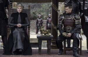 Cersei and Jaime Lannister Game of Thrones