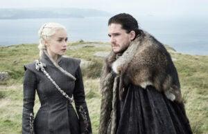 Daenerys and Jon Snow Season 7 Game of Thrones