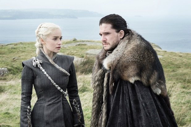 Daenerys and Jon Snow Season 7 Game of Thrones