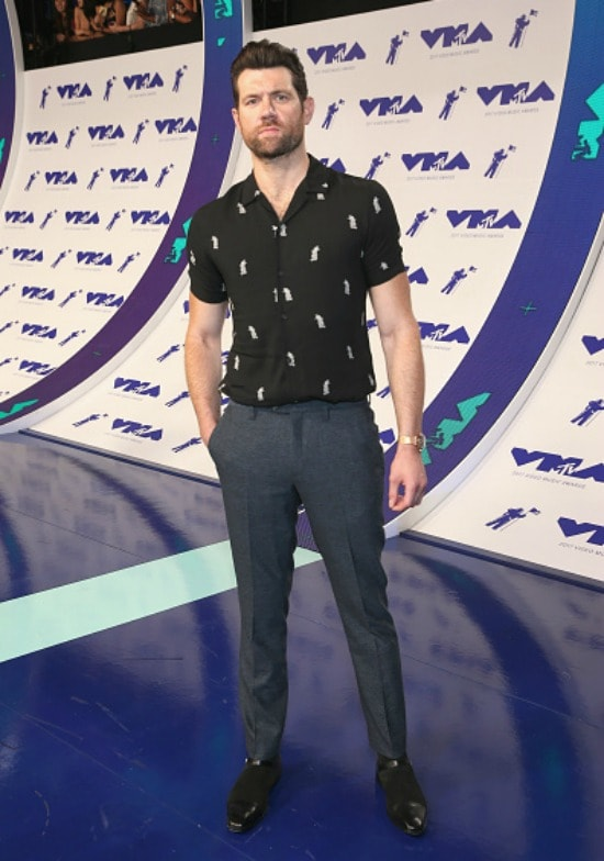 Billy Eichner at the 2017 MTV Video Music Awards.