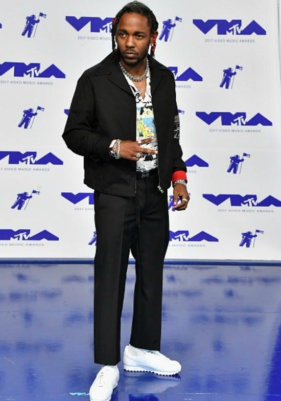Kendrick Lamar at the 2017 MTV Video Music Awards.