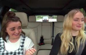 Sophie Turner and Maisie Williams on Apple Music's 'Carpool Karaoke'
