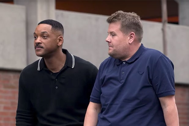 Carpool Karaoke Will Smith Joins James Corden For Premiere Of