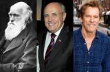 Charles Darwin Rudy Giuliani Kevin Bacon