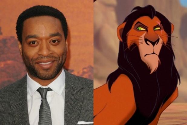 chiwetel ejiofor in talks to voice scar in  u0026 39 lion king