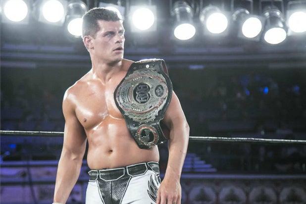 Ring of Honor World Champion Cody