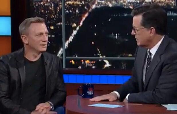 Daniel Craig on Colbert