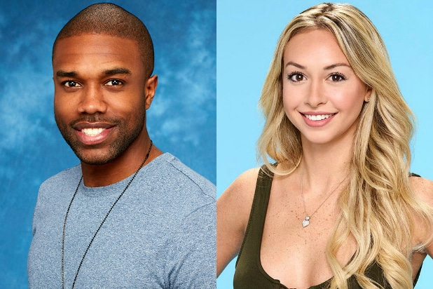 DeMario Jackson and Corinne Olympios