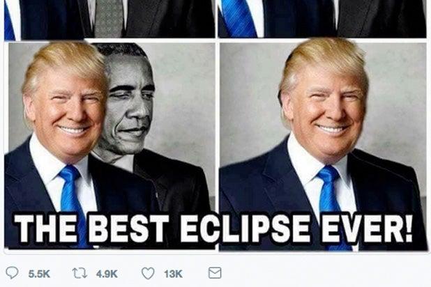 Lloyd Christmas Memes.Trump Mocked After Retweeting Best Eclipse Ever Meme