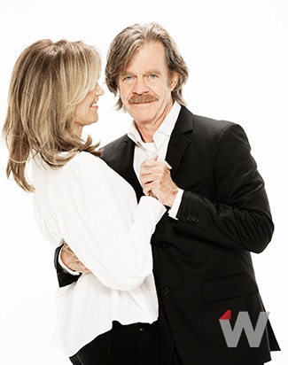 Felicity Huffman and William H. Macy, American Crime and Shameless