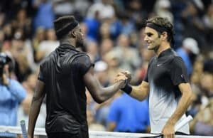 Federer and Tiafoe