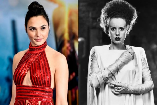 Gal Gadot Bride of Frankenstein