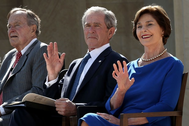 George HW Bush and George W Bush