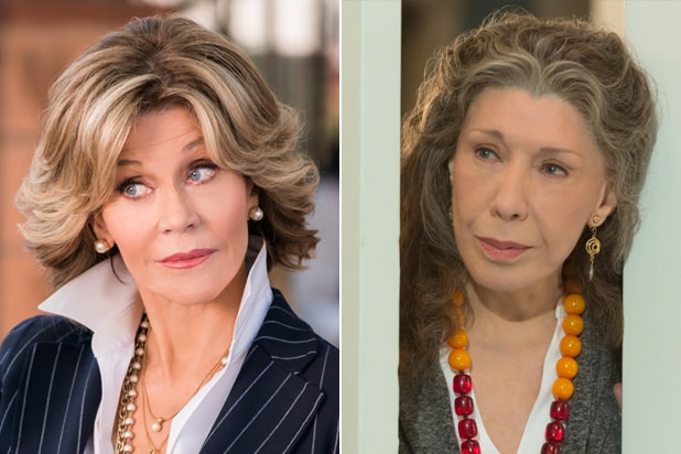 0b0ca183665fe2 Grace and Frankie Jane Fonda Lily Tomlin