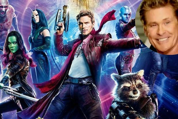 Guardians Galaxy 2 david hasselhoff