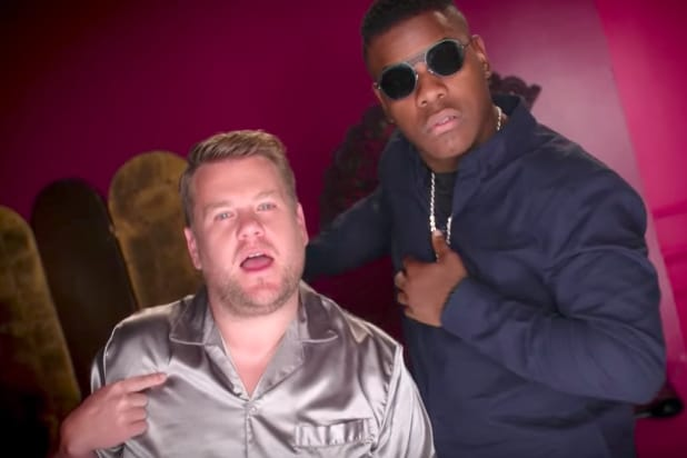 Watch Jeffrey Tambor, James Corden Fight Over John Boyega in R&B Spoof