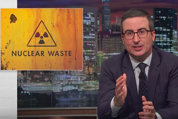 John Oliver warns of 'catastrophic' risks from nuclear waste